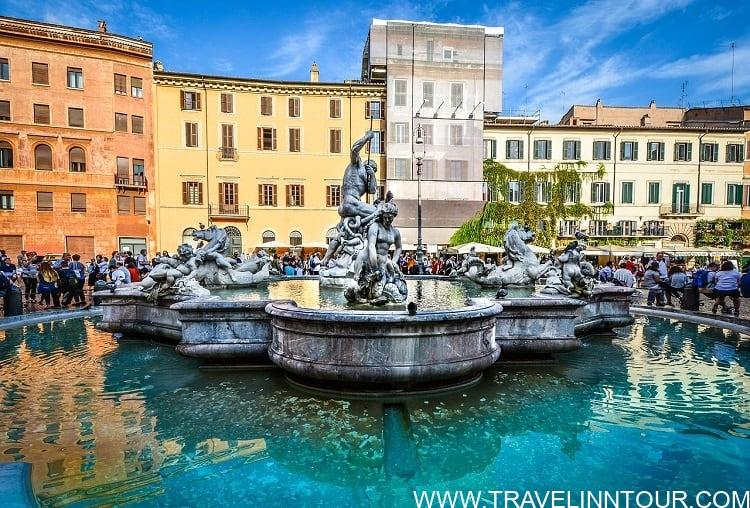 Piazza Navona Fountain Square - Rome Travel Guide