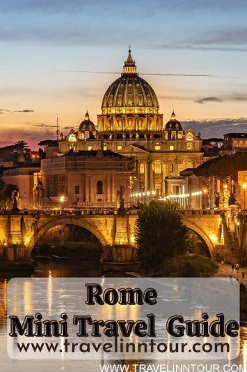Rome Mini Travel Guide Two Days In The Roman Empire Capital City