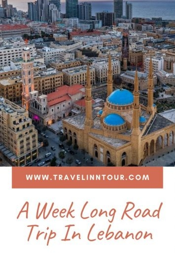 Lebanon Travel Guide - Pin