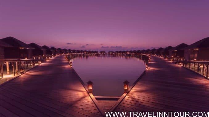 Sunset at Lily Beach Resort & Spa – Maldives