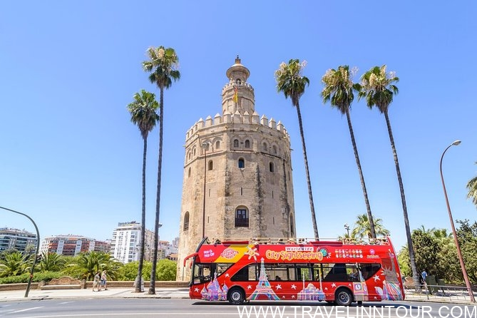 City Sightseeing Seville Hop On Hop Off Bus Tour