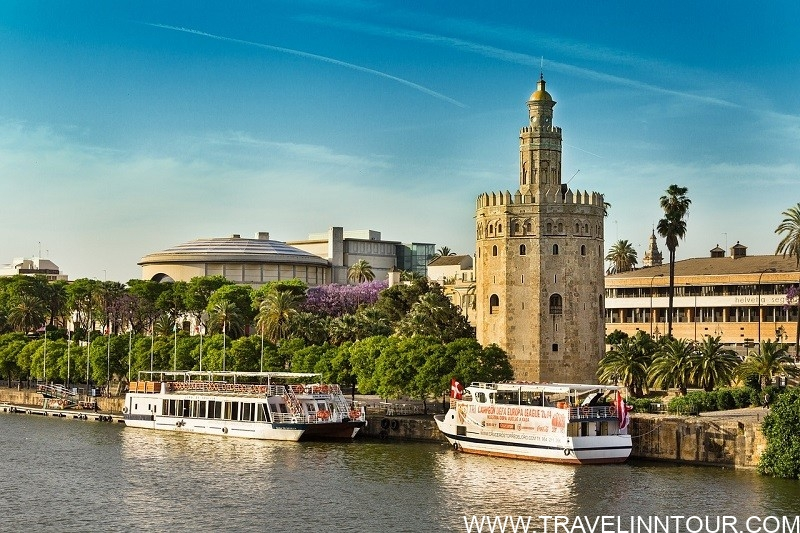 Gold Tower Guadalquivir Seville River Cruise
