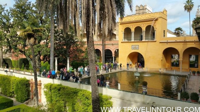 Royal Alcazars Of Seville, Spain