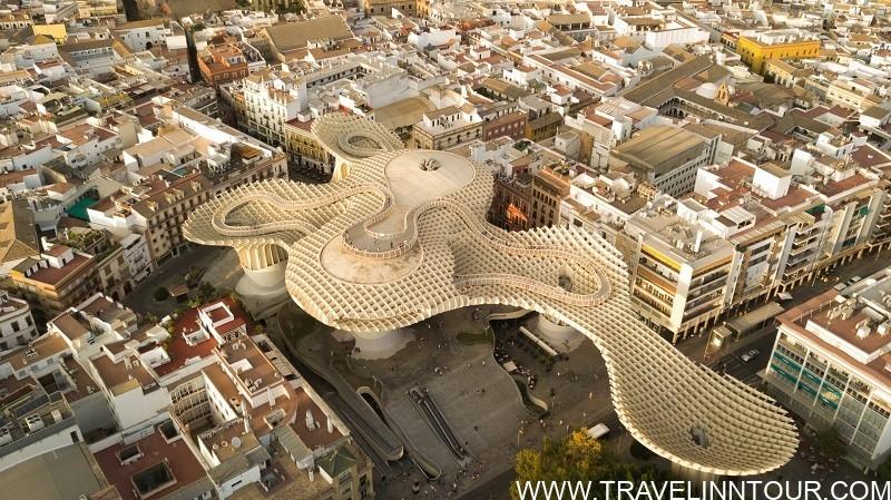 Setas de Sevilla Plaza de la Encarnacion Seville Spain