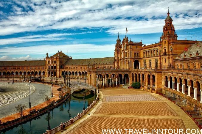 Seville Spain Travel Guide -Plaza Espana Seville