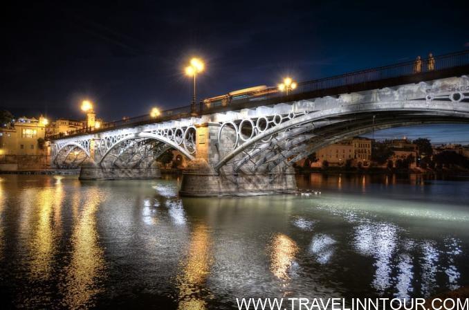 Triana Bridge Seville, Spain