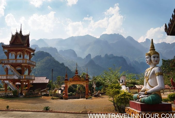 Mountains Temple