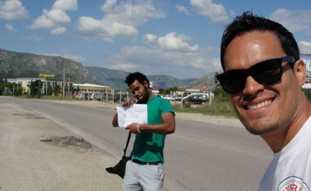 Hitchhiking to Dubrovnik