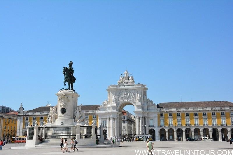 Terreiro Do Paco Lisbon Square.