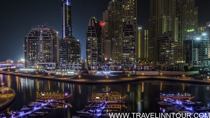 Dubai Marina - tips for first time travel to dubai