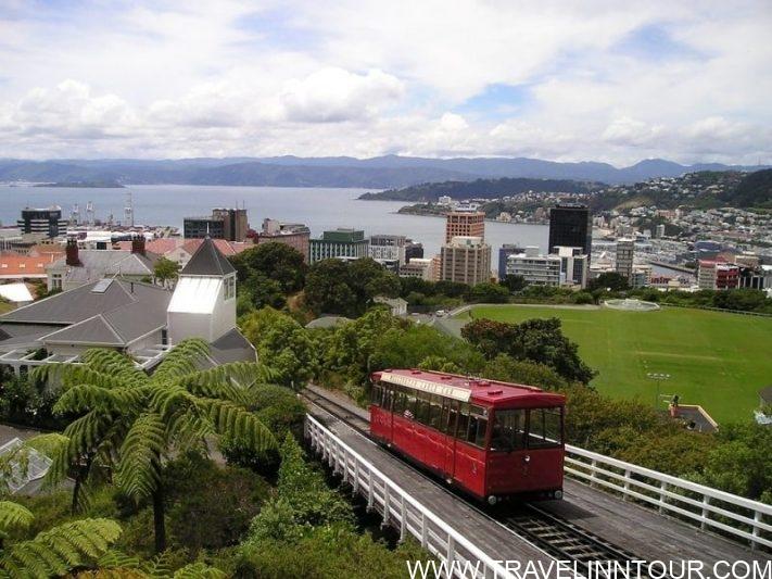 Wellington Rack Railway Viewpoint - Best Cities To Live In New Zealand