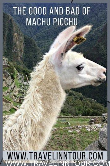 ancient site of Machu Picchu-Pin