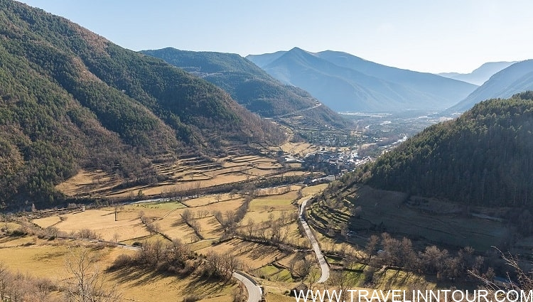 View of the valley where Torla Village is Located 2
