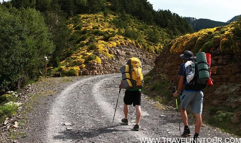 Hiking in Aragon, spain