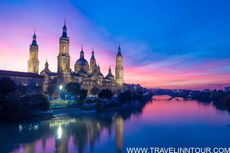 sunset Zaragoza
