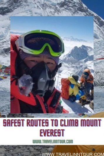 routes to climb - Pin