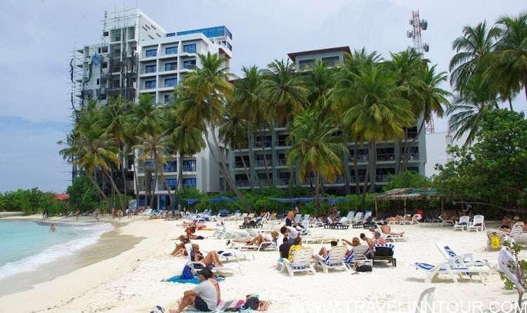 Bikini Beach Maafushi Island