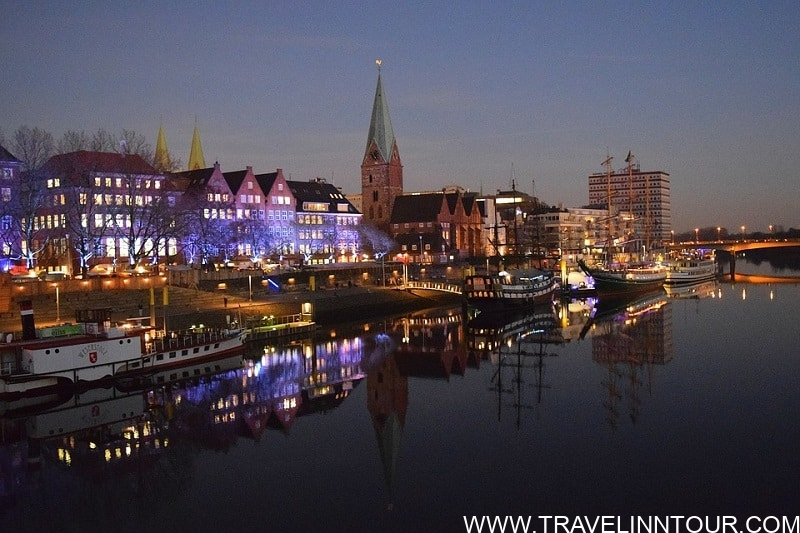 Bremen Weser River