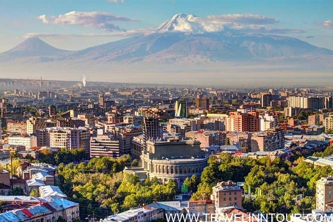 Yerevan Pink city - what is famous in Armenia