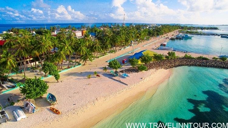 beach area aerial