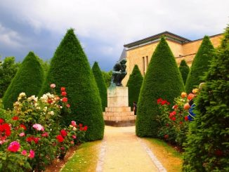 Beautiful gardens at the Rodin Museum 1 1