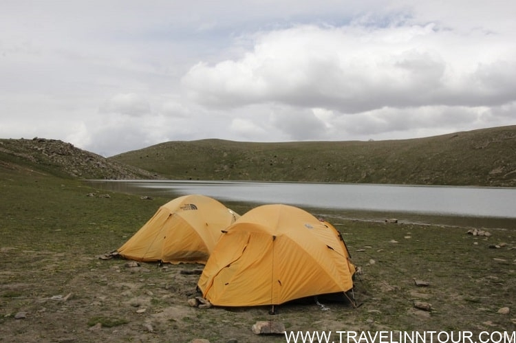 Camping at Rush Lake