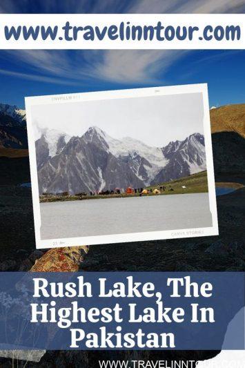 Rush Lake The Highest Lake In Pakistan