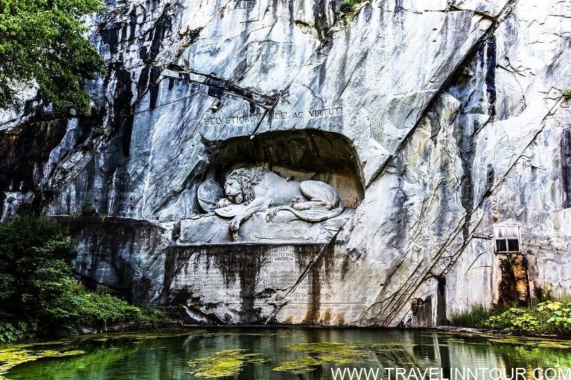 Dying Lion of Lucerne - Bucket List Travel Destinations