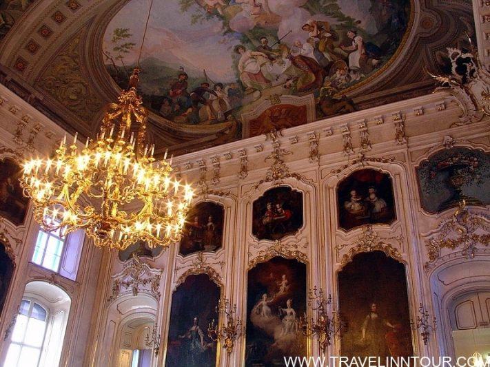Giants Hall frescoes by Franz Anton Maulbertsch 1775–1776 1