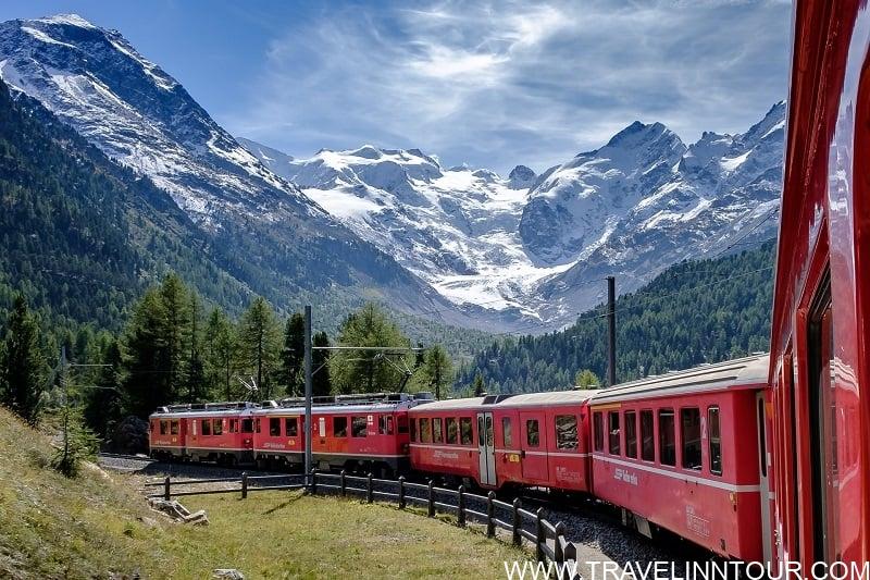 Glacier Express - Bucket List Travel Destinations
