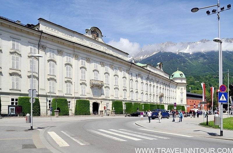Hofburg in Innsbruck Austria 1