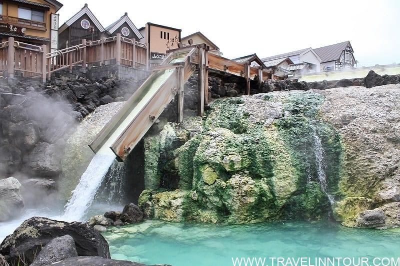 Kusatsu Yubatake Hot Springs