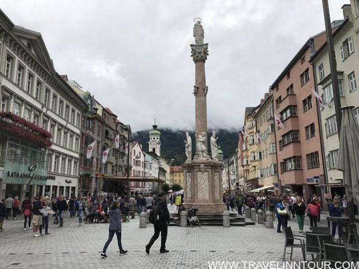 St. Annes Column Innsbruck LandMark