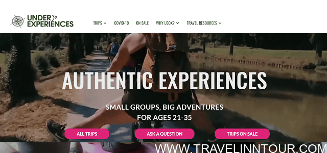 Under30Experiences Group Travel for Young Adults