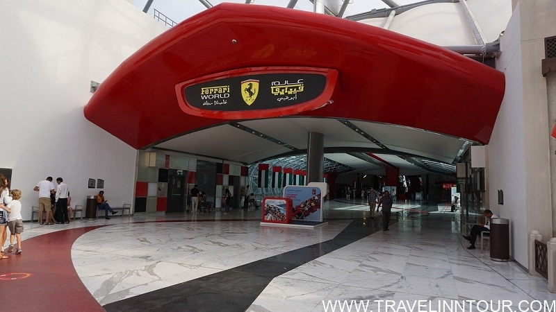 Ferrari World Abu Dhabi UAE
