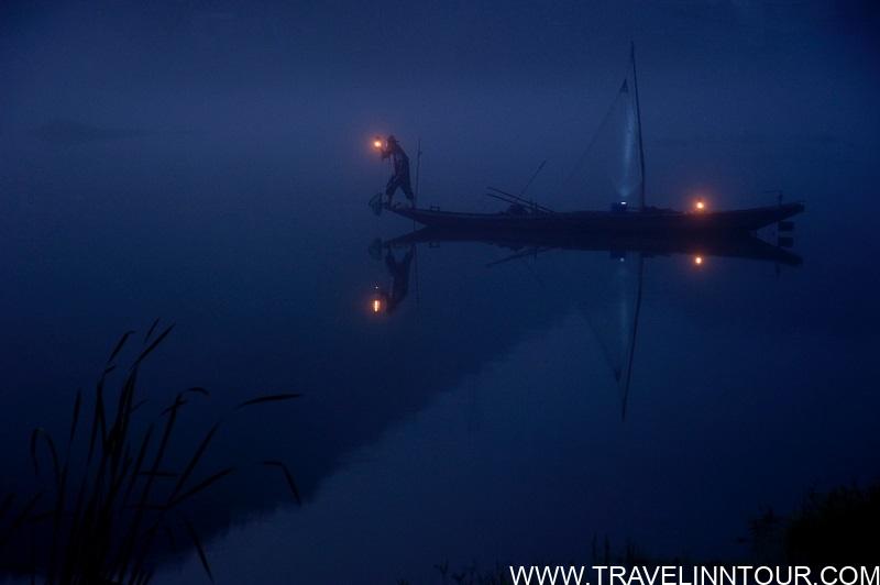 Night Fishing Trip In The Maldives