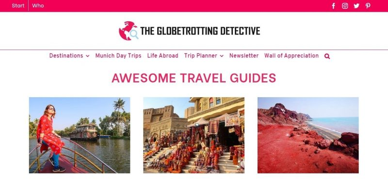 The Globetrotting Detective