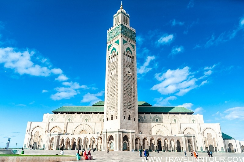 The Hassan Ii Mosque Mosque Casablanca